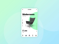 Animated Product Slide for a Furniture App