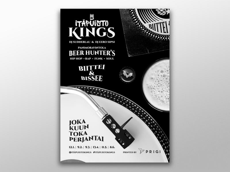 Itäpuisto Kings Poster
