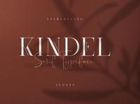 Kindel - serif typeface | 4 styles