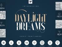 Daylight Dreams Serif Font + Extras