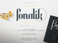 Fonatik Display font + Extras