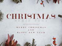 Christmas Serif font