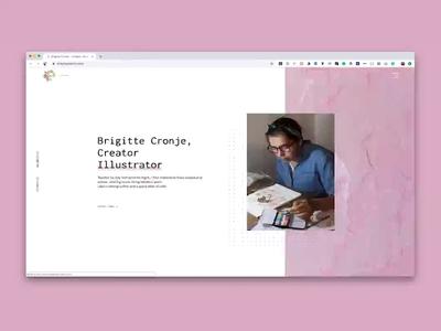Brigitte Paints Website