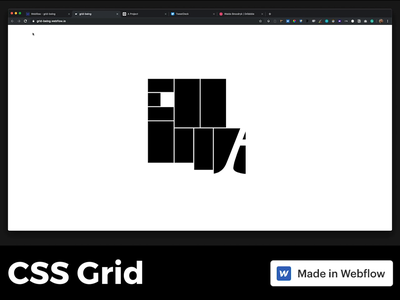 CSS Grid codepen css grid css3 webflow