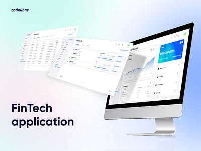 FinTech application CheckAll web ux ui figma