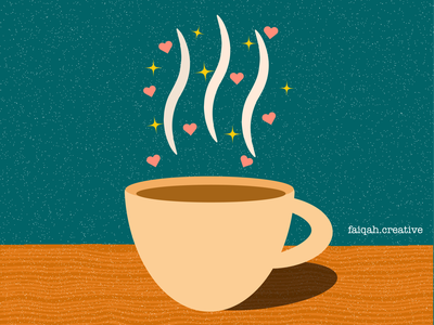 Coffee cup coffee shop adobe illustrator flat minimal vector design illustration latte art coffee cup