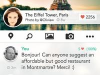 Chatterguide mockup app detail 2