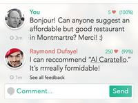Chatterguide mockup app detail 3