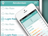 No Rain App