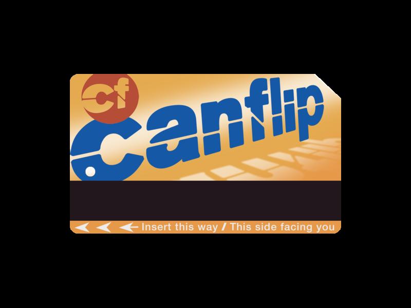 canflip metrocard graphic design illustrator icon minimal vector branding logo illustration design