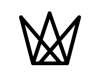 Tin Crown Symbol By Pixelcup Dribbble
