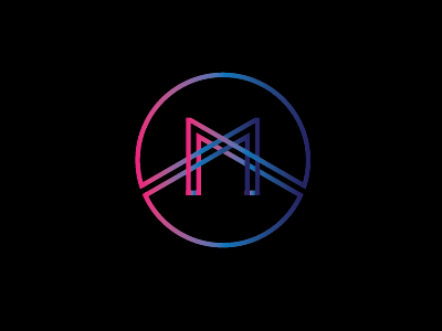 M Symbol By Pixelcup Dribbble