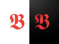 3D Letter B Monogram