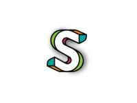 3D S Monogram