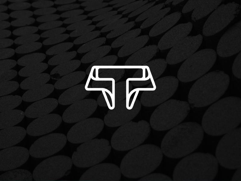 Techsmarter - Logo design ©2018 vector monogram minimal tech typography design mark icon logo symbol