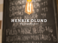 Henrik Olund Photography - Logo design ©2018
