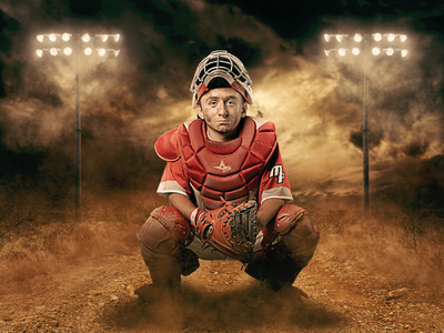 Digital Baseball Composite wallpaper wacom textures art photoshop photography athlete sports baseball digital