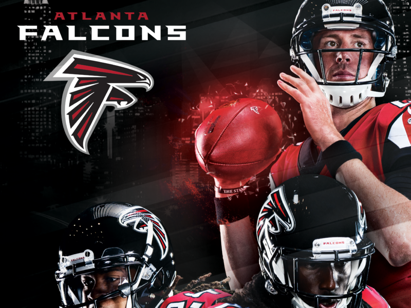 Atlanta Falcons Poster wacom photoshop wallpaper digital poster atlanta falcons nfl football sports