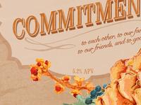 Wedding Beer Label Series: Commitment