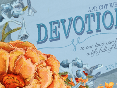 Wedding Beer Label Series: Devotion