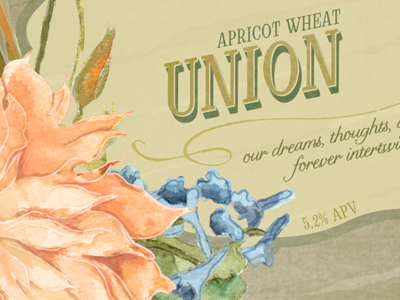 Wedding Beer Label Series: Union