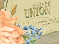 Wedding Beer Label Series: Union