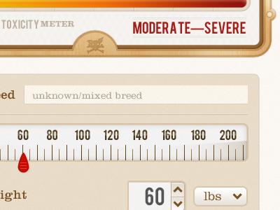 Toxicity Meter toxicity meter