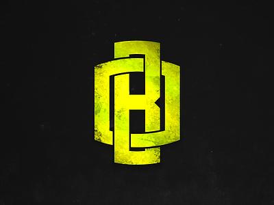 -OB- Logo ob green lime concept eraless signature monogram branding creation design logotype logo