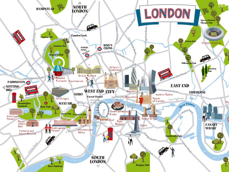 London Map By Jesus Sanz Dribbble Dribbble