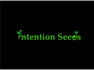 Intention seeds logo . seeds