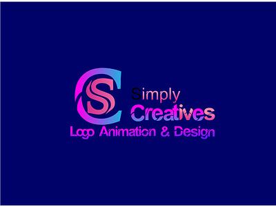Letter CS logo simply logo animation logo 3d logo letter cs
