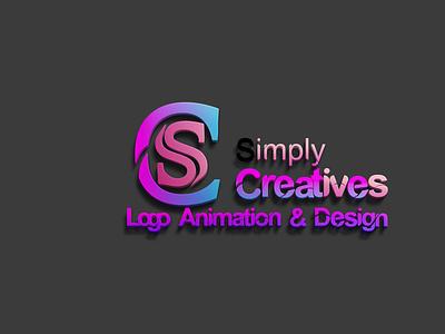Simply creative logo simply logo logodesign animation logo creative logo 3d logo