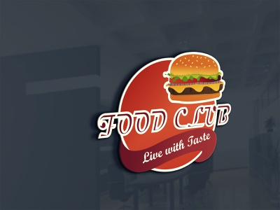 Fast food logo logo food club logo club logo 3d logo food logo