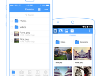 iOS & Android Cloud Storage App