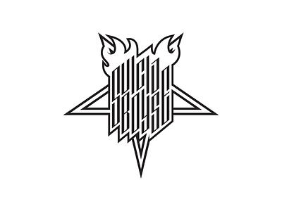 $UICIDEBOY$ baphomet 666 calligraphy typography design music hiphop branding mark identity logo suicideboys