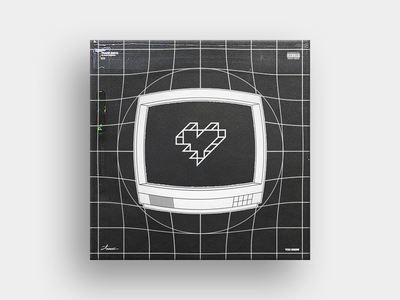 You Know tv heart illustration artwork cover single album music hiphop toronto