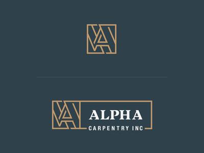 Alpha Carpentry Logo