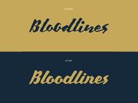 Bloodlines Rebrand