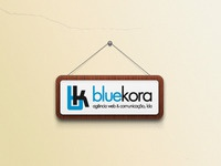 Bluekora on the wall!