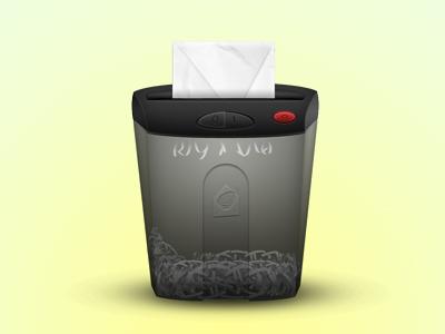 Mr. Report Abuse shredder envelope light button illustration paper shadow transparent portugal
