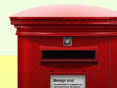 London Style! postbox london portugal red letter leeva light shadow hightlight