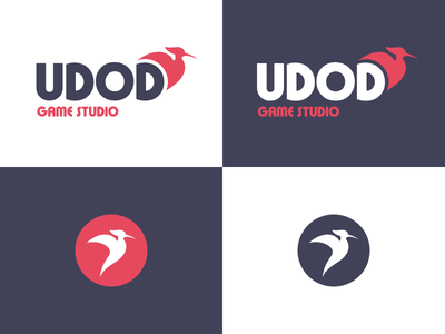 UDOD startup icon design logo