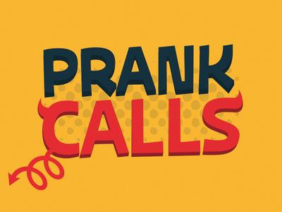 Prank Calls - Logo illustration design logo