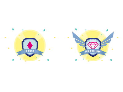 Tiers free premium tiers badges