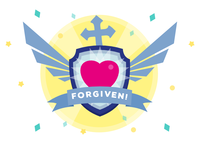 Forgiven Badge