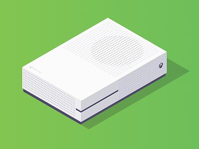 Xbox isometric illustration xbox