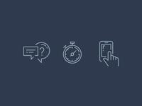 Proactive icons