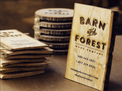 Reclaimed Wooden Business Cards hand crafted wood burning wood design logo business cards design typography branding business card business card design business cards