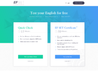 Efset take a free test desktop
