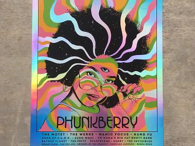 Phunkberry 2017 Poster